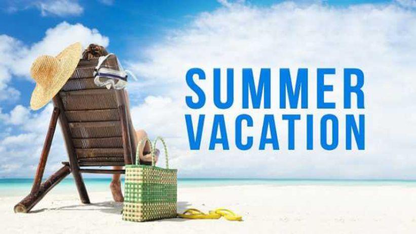暑假要來啦! Summer Vacation Is Coming!