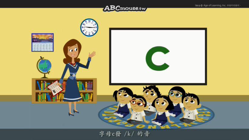 <span class='sharedVideoEp textYellow'>003</span> 認識字母C Word Chant C