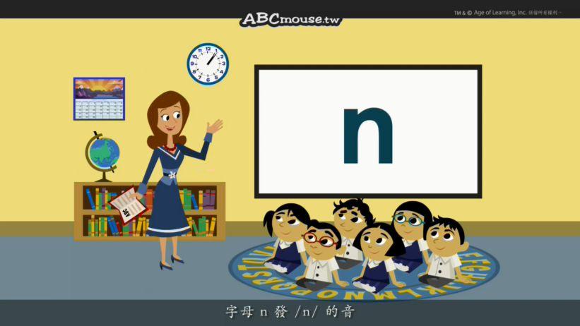 <span class='sharedVideoEp'>014</span> 認識字母N Word Chant N