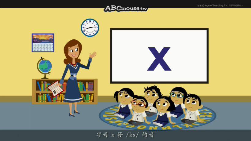 <span class='sharedVideoEp textYellow'>024</span> 認識字母X Word Chant X