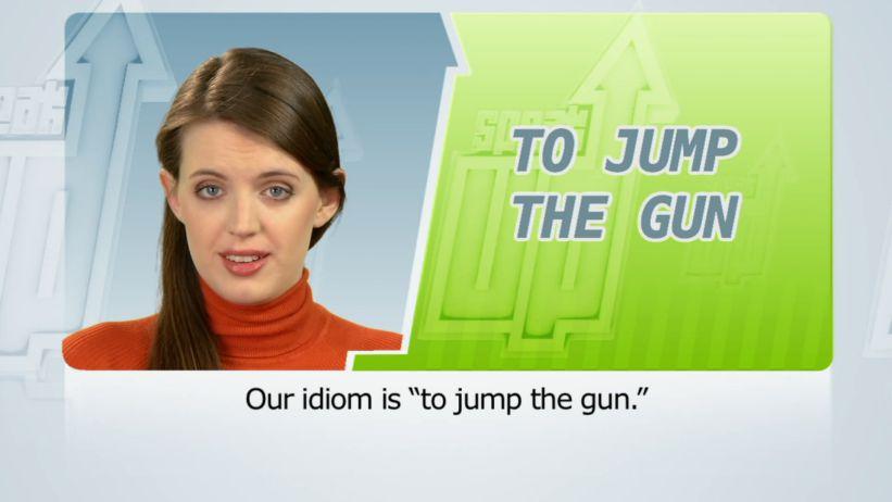 <span class='sharedVideoEp'>049</span> 跳過鳴槍 (操之過急) 「To jump the gun」