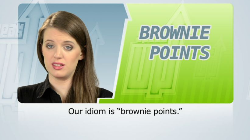<span class='sharedVideoEp'>055</span> 咖啡色的積分 (印象分數) 「Brownie points」