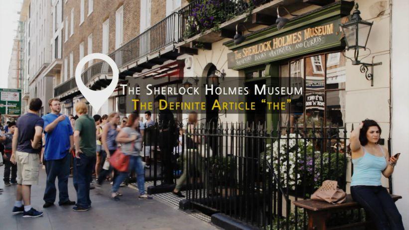 "<span class='sharedVideoEp'>010</span> 福爾摩斯博物館 - 定冠詞 ""THE"" 「The Sherlock Holmes Museum - The Definite Article ""the""」"